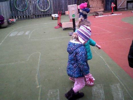children on zebra crossing