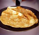 pancake in frying pan